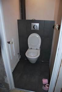 Pose Toilette Suspendu : pose carrelage wc suspendu id es d coration id es ~ Melissatoandfro.com Idées de Décoration