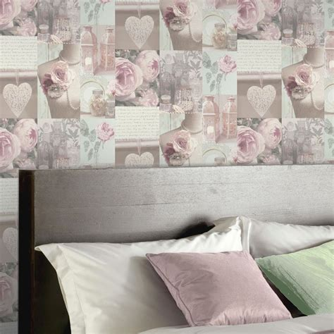 cheap shabby chic wallpaper shabby chic floral wallpaper in various designs wall decor