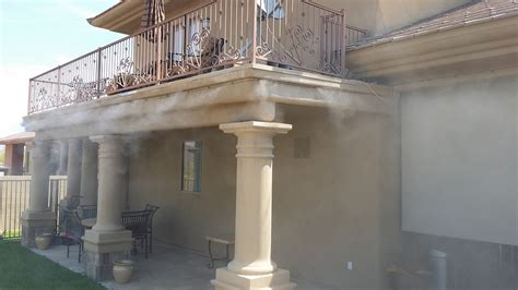 backyard patio mist systems misting system