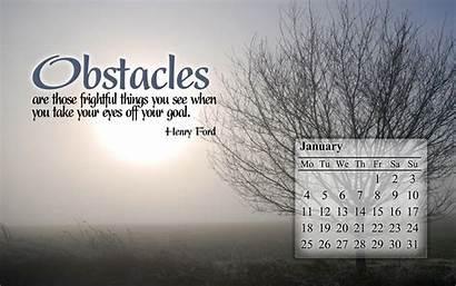 January Desktop Inspirational Screensavers Calendar Wallpapers Motivational