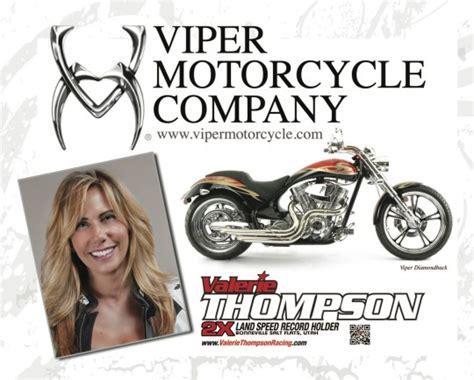 Valerie Thompson To Present Black Diamond Edition Viper