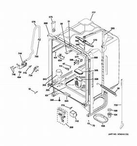 Body Parts Diagram  U0026 Parts List For Model Gld4560r00ss Ge