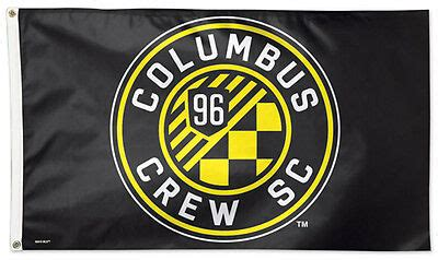 COLUMBUS CREW Huge 3'x5' Official MLS Soccer Team Logo ...
