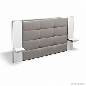 Tete De Lit Argent : t te de lit 160cm laetitia prix d 39 usine designement ~ Teatrodelosmanantiales.com Idées de Décoration