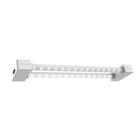 workshop lights home depot feit electric 4 ft 1 light white led utility shop light