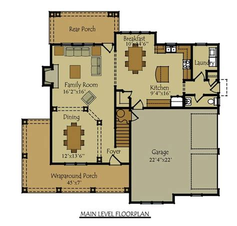 2 floor plans with garage two four bedroom house plan with garage house