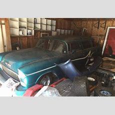 Garage Bound 1955 Chevy Nomad