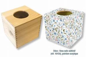Boite A Mouchoir En Bois : bo te mouchoirs cubique en bois bo te mouchoirs 10 doigts ~ Teatrodelosmanantiales.com Idées de Décoration