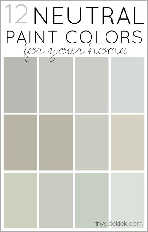 Neutral Paint Colors On Pinterest  Revere Pewter, Gray
