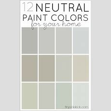 Neutral Paint Colors On Pinterest  Revere Pewter, Gray