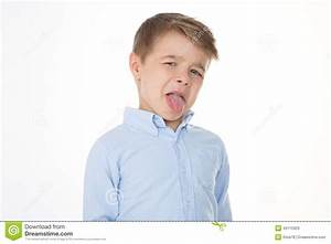 Little Disgusted Kid Stock Photo - Image: 45115923