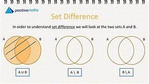 3 5 M Venn Diagrams 6 - Set Difference
