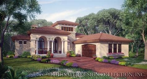 home plan casina rossa sater design collection