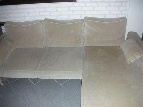 comment recouvrir un canapé d angle réféction du canapé c 39 était pas du luxe arthur