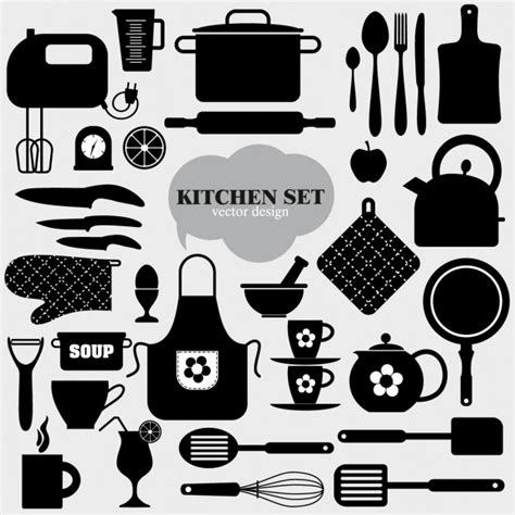 Kitchen Vectors, Photos And Psd Files  Free Download