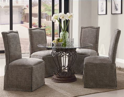 gray skirted parsons chair grey skirted dining room chairs home interiors