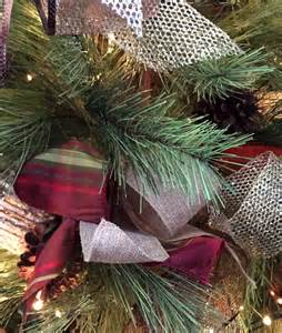 hometalk how to decorate a tree with ribbon