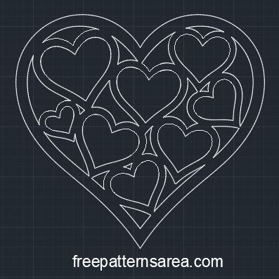 heart shaped vector template  valentines day