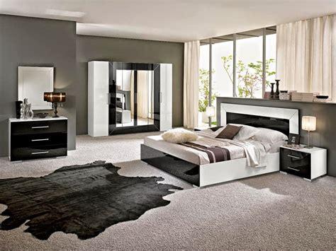 chambre moderne noir et blanc chambre moderne noir et blanc decoration chambre noir et