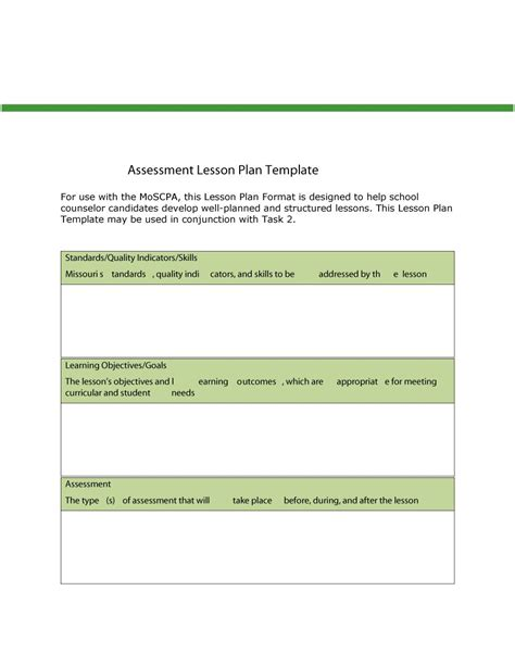 lesson plan template using common standards 44 free lesson plan templates common preschool weekly