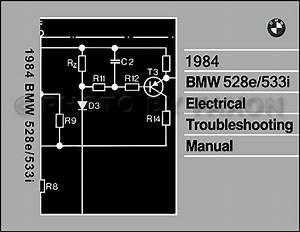 1984 Bmw 528e  533i Electrical Troubleshooting Manual
