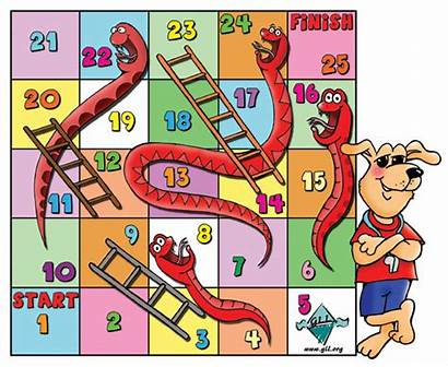 Cartoon Games Funny Cartoons Background Ladders Snakes