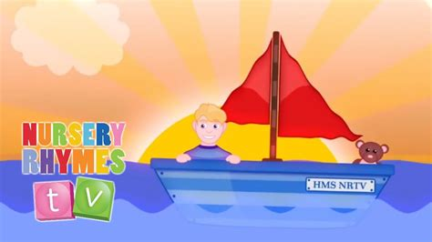 Motorboat The Song by Big Blue Boat Nursery Rhymes Tv Toddler Kindergarten