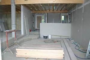 Separation Salon Chambre : separation chambre salon 5 pltre cloisons et portes ~ Zukunftsfamilie.com Idées de Décoration