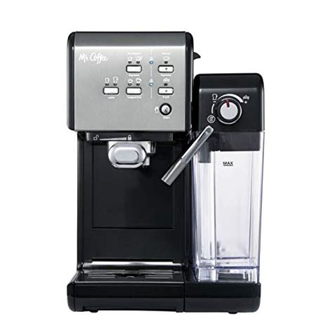 Most parts of the tea maker can be washed by hand. Mr. Coffee BVMC-EM7000DS Home Kitchen 1 Touch 19 Bar Pump Automatic Cappuccino, Latte, Espresso ...