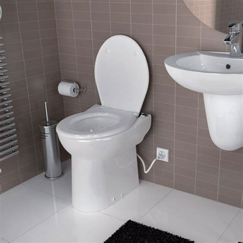 toilet with sink built in saniflo sanicompact toilet with macerator built in and sink inlet 240v