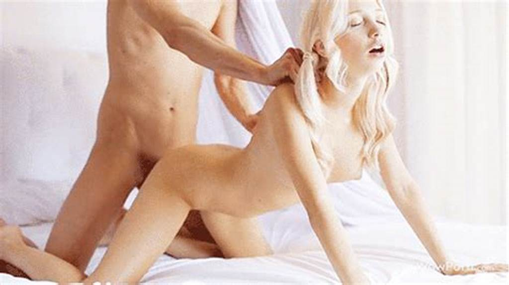 #Fucked #Hot #Blonde #From #Behind