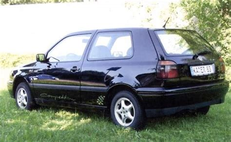 Vw Golf Competitors by Vw Golf 3 Competition Auf Doppel Wobber
