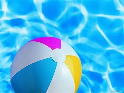 Summer Beach Ball Desktop Backgrounds Pool Party