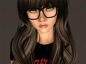 Empire Sims 3: Nerdy Glasses By IN3S' Little Place