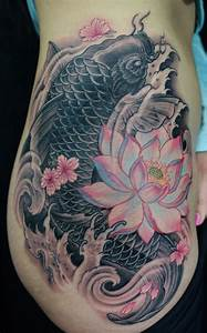 42 Mind Blowing Koi Tattoo Designs Examples - SheIdeas