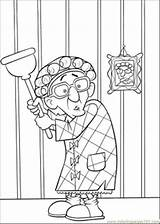 Scared Ratatouille Coloring Grandmother Printable Pages Cartoons sketch template
