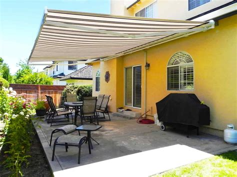 awning wind sensors   retractable shading
