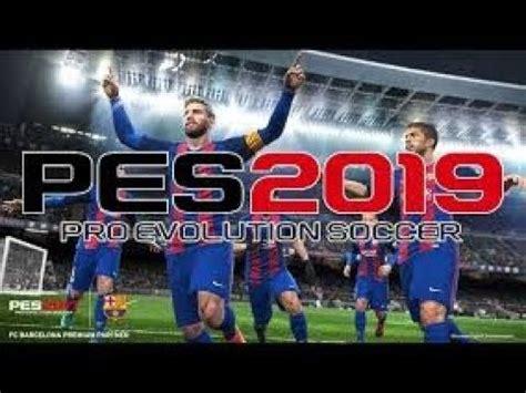 pes 2019 pro evolution soccer ppsspp