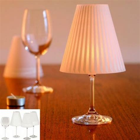 candle light l shades alcohol wine glass lshade candle l funtim