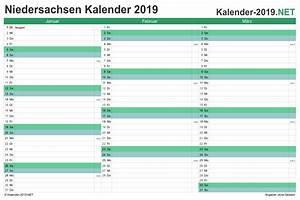 Ferien Nrw 2018 19 : kalender 2019 niedersachsen ~ Buech-reservation.com Haus und Dekorationen