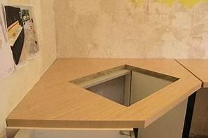 Meuble Plaque Cuisson : percer le trou de la plaque de cuisson ~ Teatrodelosmanantiales.com Idées de Décoration