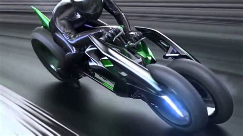 Futuristic Motorcyle : Check Out Kawasaki's Incredible Futuristic Electric