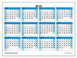 Kalender 2019 39ZZ Michel Zbinden nl