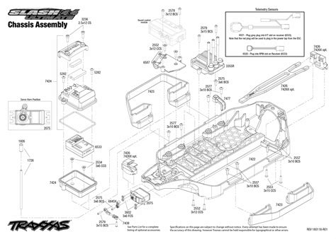 Rc Boat Part Diagram by Cars Trucks Replacement Parts Traxxas Parts