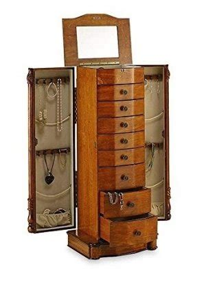 Large Mirror Jewelry Armoire by Floor Standing Mirror Jewelry Armoire Foter