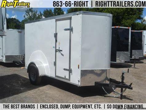 trailer enclosed trailers doors hauler barn go tractor