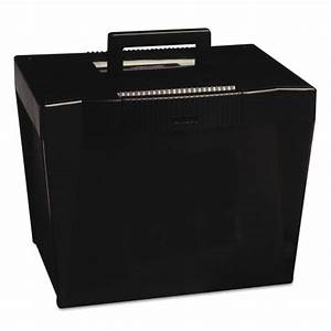 pendaflex 20861 portable file storage box letter plastic With plastic letter file box