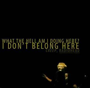 Radiohead Creep Quotes. QuotesGram
