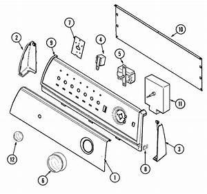 Maytag Model Pye2300ayw Residential Dryer Genuine Parts