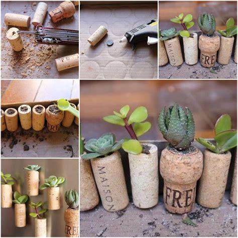 Garden Wine Cork Crafts